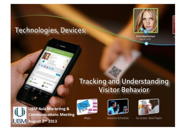 Set Your Event Up For Success - Understanding Visitor Behavior- UBM Annual Meeting
