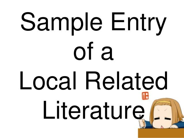 "local review of related literature of website Local review of related literature of website chapter ii review of related literature and studies related literature the development of the study is based on ""published"" materials like."