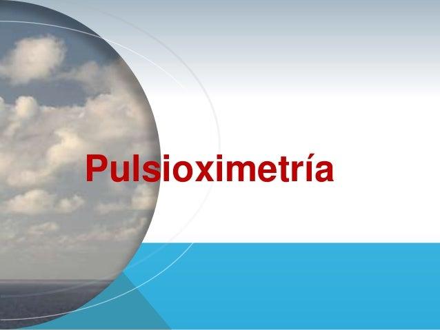 Pulsioximetria de dedo- Oxideo