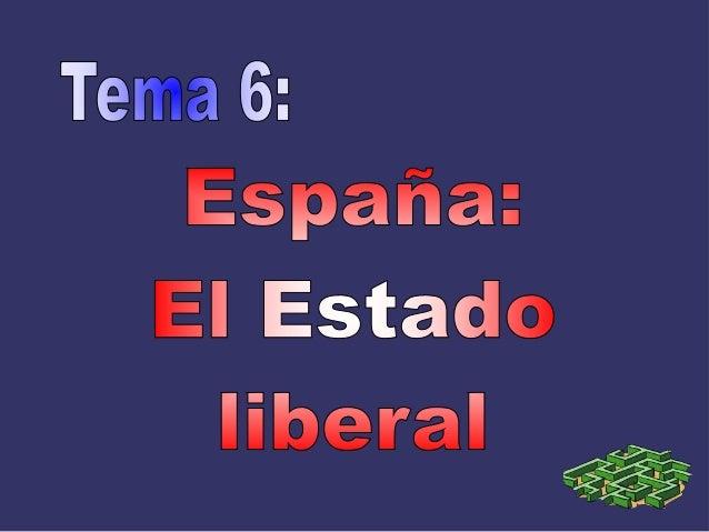 Triunfo del Liberalismo Ámbito político: Nuevos sistemas de gobierno (monarquía constitucional y república), aunque los co...