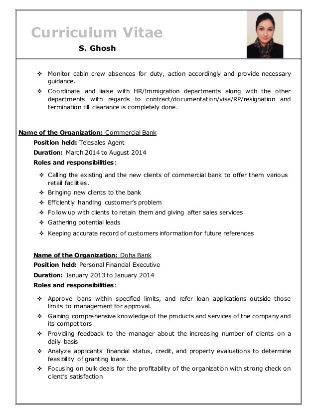 Cabin crew cv all docs vatozozdevelopment resume of s ghosh spiritdancerdesigns Gallery