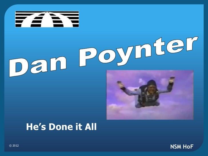 Dan Poynter-Parachutes, Skydiving & Aviation.