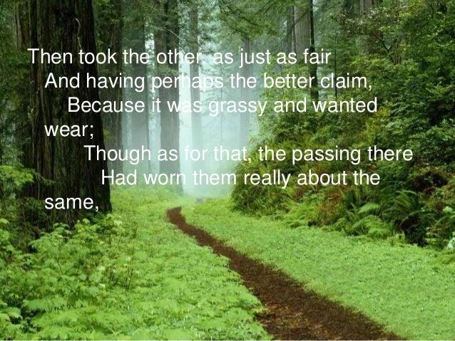 The road not taken....?