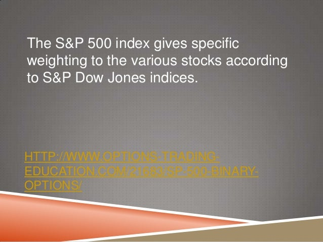 trading dow jones index options