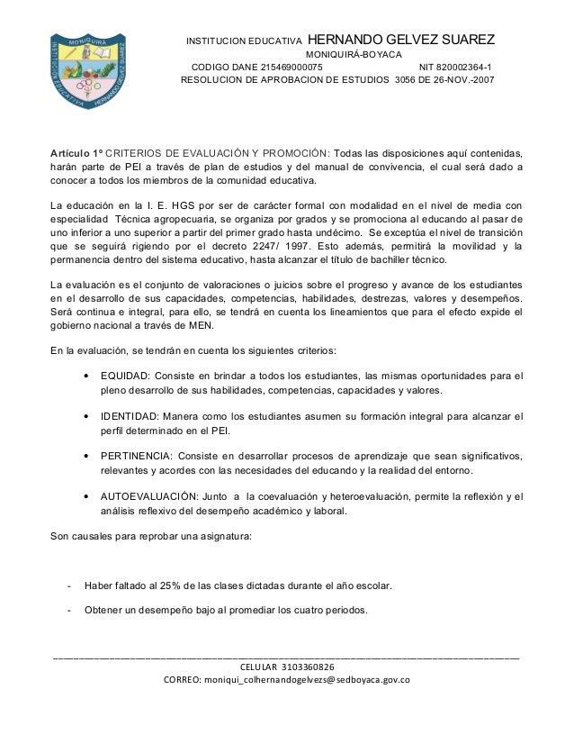 INSTITUCION EDUCATIVA      HERNANDO GELVEZ SUAREZ                                                    MONIQUIRÁ-BOYACA     ...