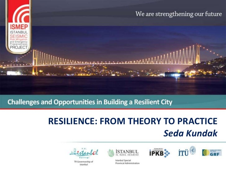 RESILIENCE: FROM THEORY TO PRACTICE                        Seda Kundak