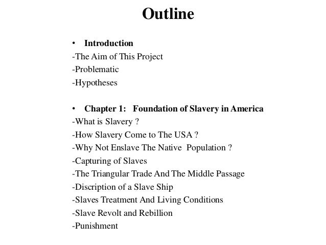 an introduction to the issue of slavery in america This work brings together in one place primary material dealing with the issue of american catholics and slavery the anthology is organized in three parts each part is preceded by an introduction offering an overview of the section and each of the one hundred documents.