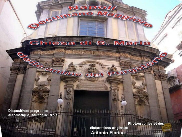 Photographies et des élaborations originaux Antonio Florino Diapositives progresser automatique, sauf deux, trois