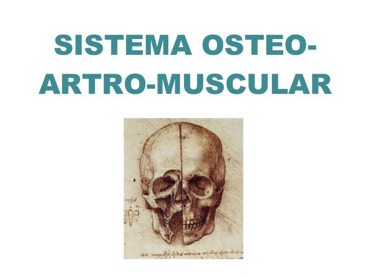 SISTEMA OSTEO- ARTRO-MUSCULAR