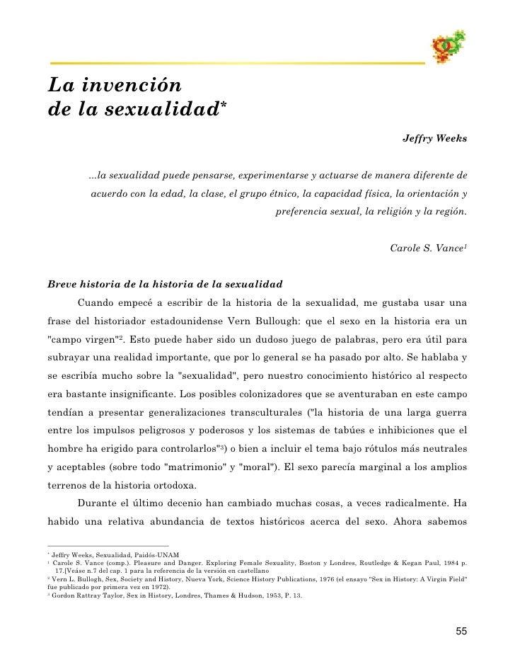 01 04 La InvencióN De La Sexualidad