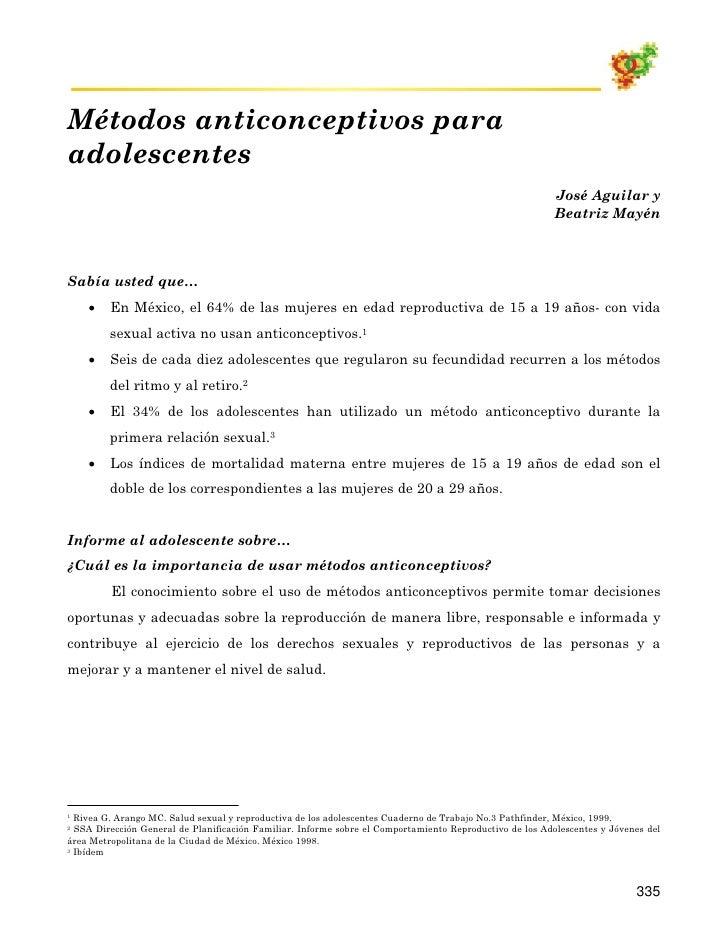 01 21 MéTodos Anticonceptivos