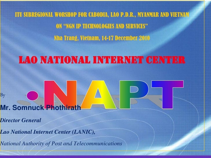 Lao National Internet Center