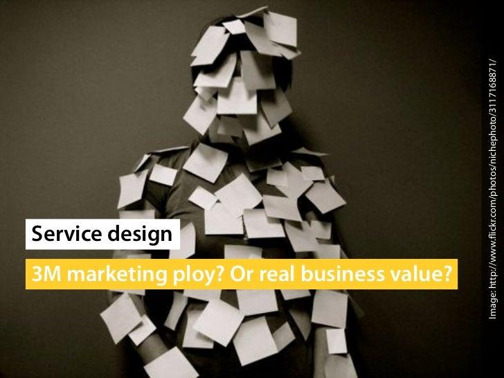 Saasu Conference: Service Design