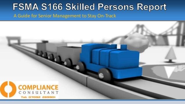 FSMA S166 Guide For Senior management