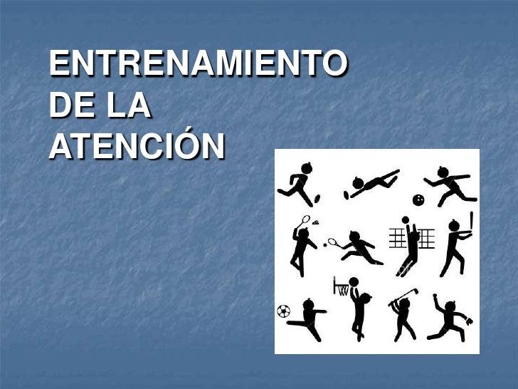 S17 Entrenamiento De La Atencion