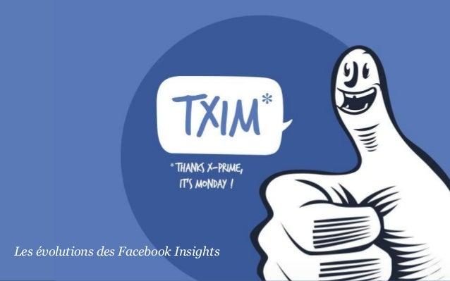 Les améliorations des insights facebook