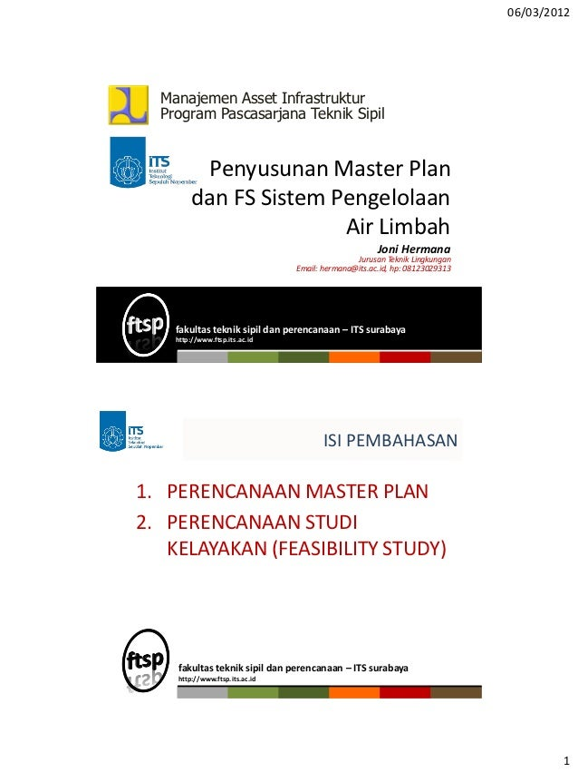 S2 mai kuliah_master plan dan fs sistem pengelolaa