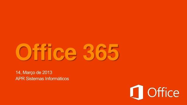 Evento APR: Office 365