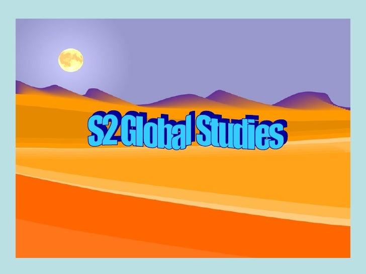 S2 Global Studies
