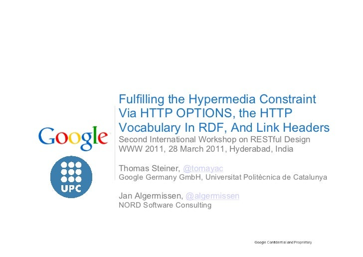 Fulfilling the Hypermedia Constraint via HTTP OPTIONS, The HTTP Vocabulary In RDF, And Link Headers