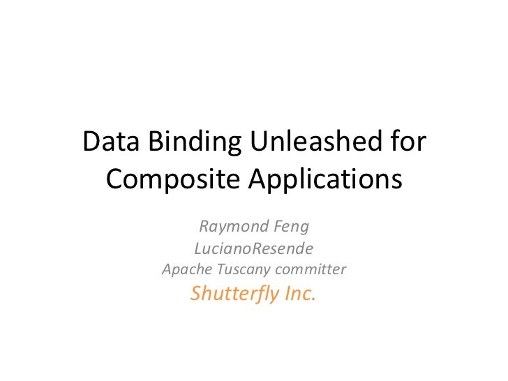 Data Binding Unleashed for Composite Applications