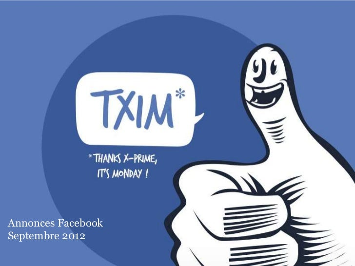 Annonces FacebookSeptembre 2012                    1