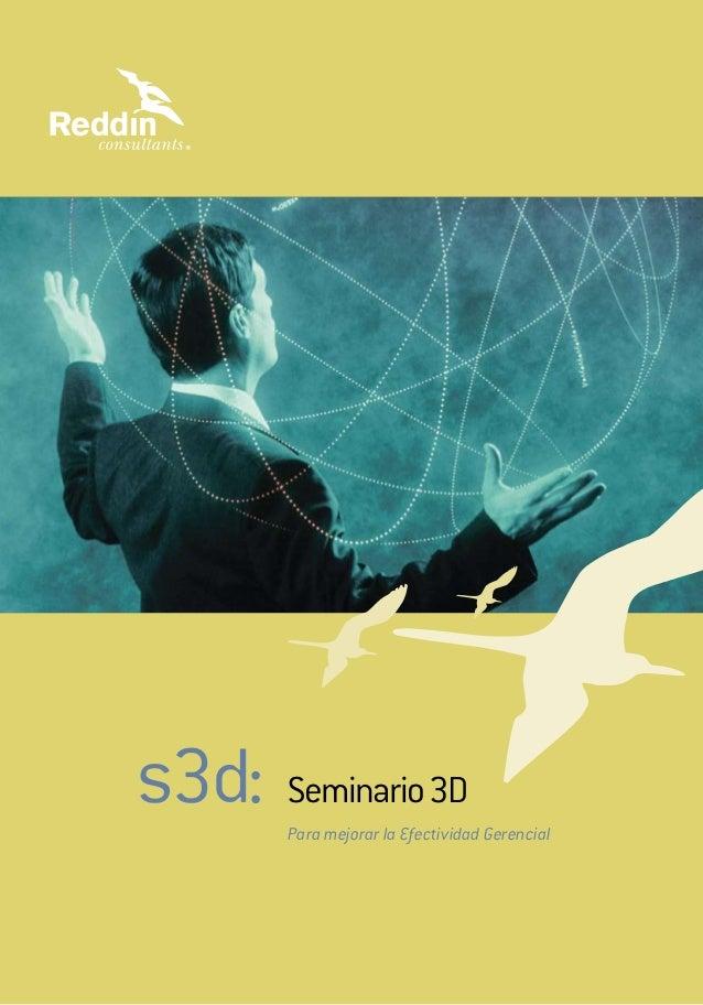 s3d: Para mejorar la Efectividad Gerencial Seminario3D