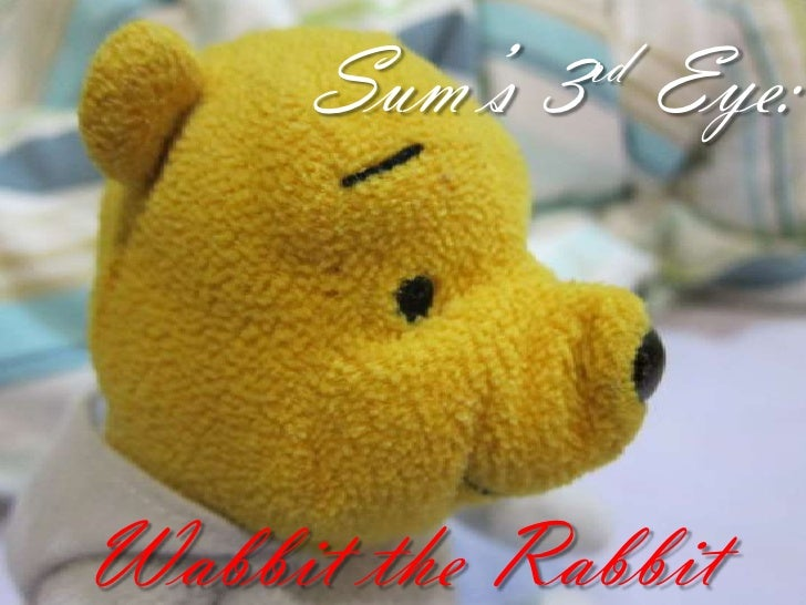 S3E : Wabbit the Rabbit