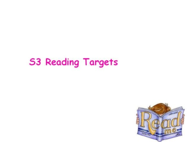 S3 Reading Targets