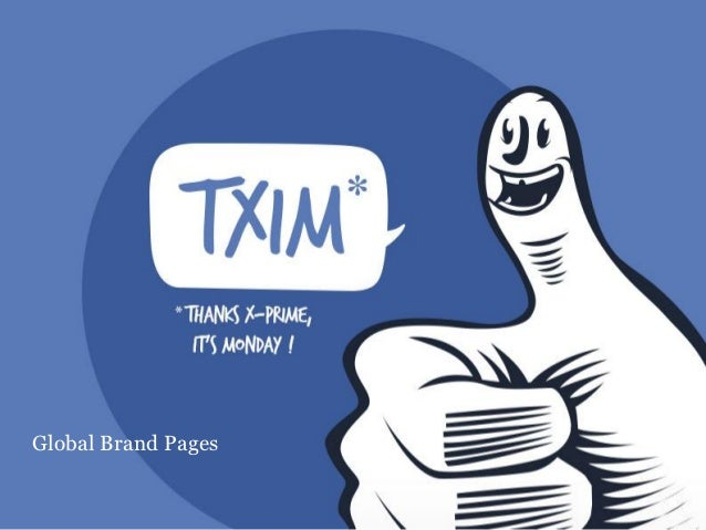 TXIM : Global brand pages