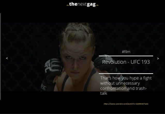 El spot de promoción de la UFC que se volvió viral