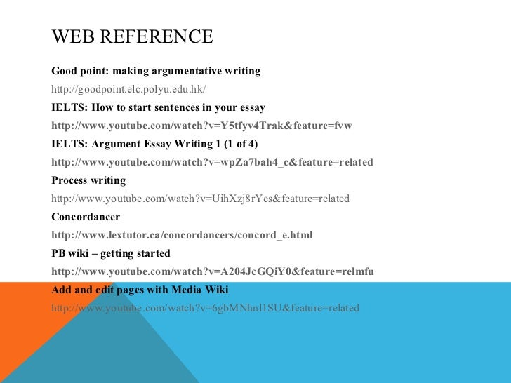 Using references in your work - University of Reading