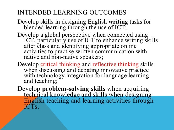 ict in language learning essay