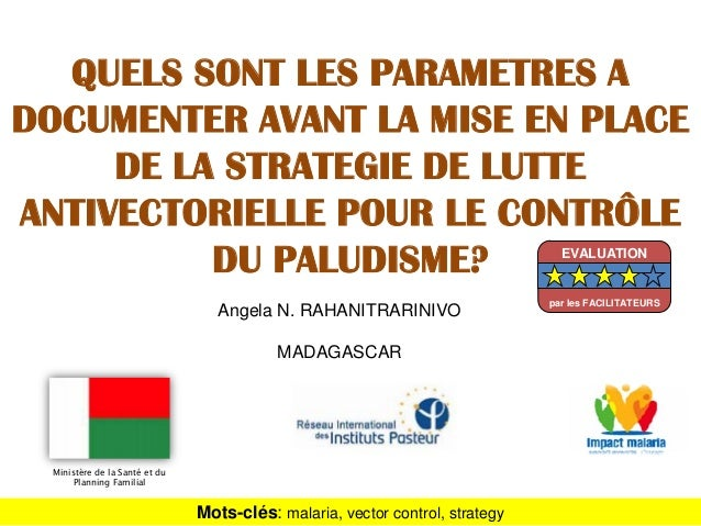 Angela N. RAHANITRARINIVOMADAGASCARQUELS SONT LES PARAMETRES ADOCUMENTER AVANT LA MISE EN PLACEDE LA STRATEGIE DE LUTTEANT...