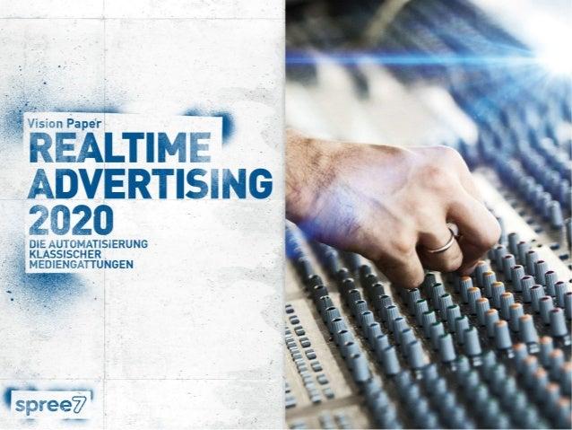 Der Theorie des klassischen Gartner Hype-Cycles folgend, befindet sich die Digitalbranche beim Thema Realtime Advertising ...