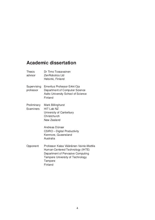 Doctoral dissertation help helsinki university