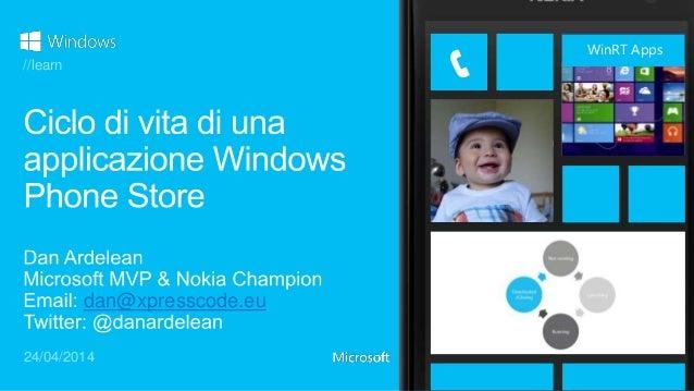 Ciclo di vita di una applicazione Windows Phone Store