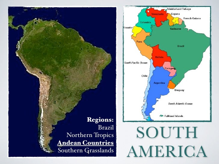 South America - Andean Countries