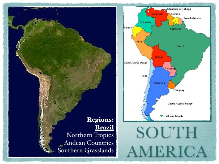 Regions:                       SOUTH            Brazil   Northern Tropics  Andean CountriesSouthern Grasslands            ...