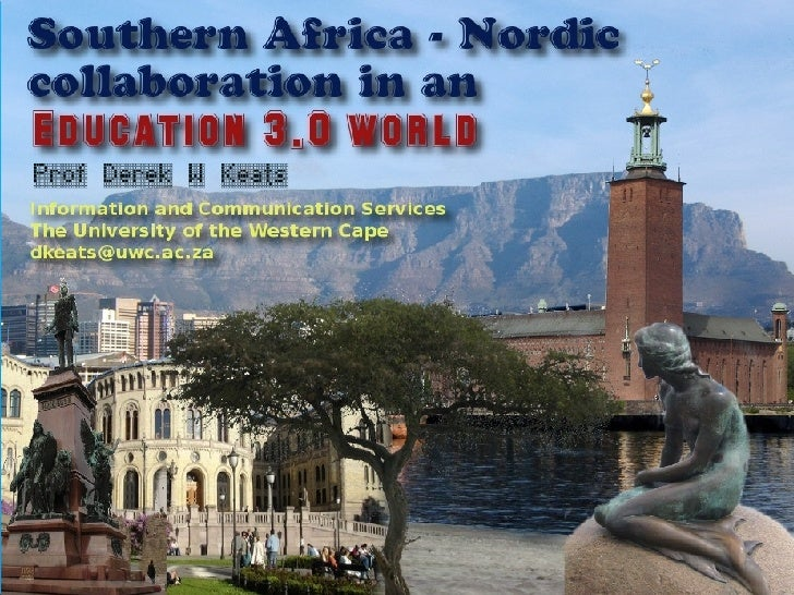 SA - Nordic collaboration in an Education 3.0 world