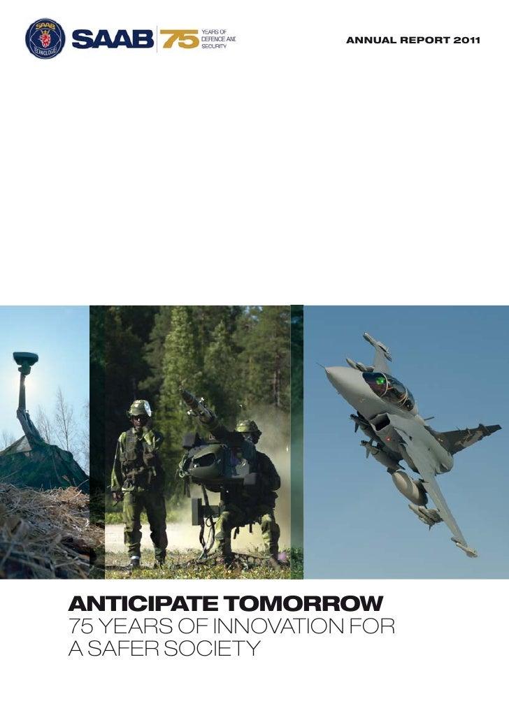 Saab Annual Report 2011