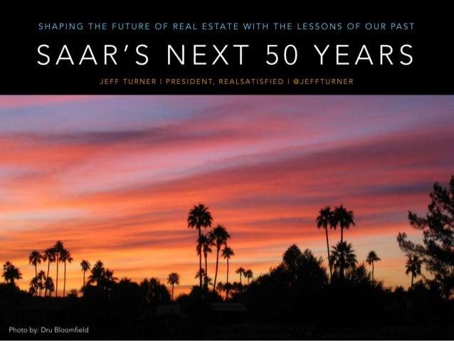 SAAR 50 Year Anniversary Keynote Slides