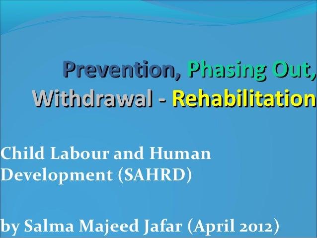 Child Labour - Saarc Presentation 2012
