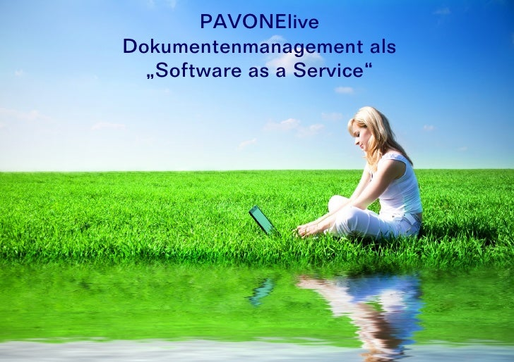 "PAVONElive Dokumentenmanagement als   ""Software as a Service"""