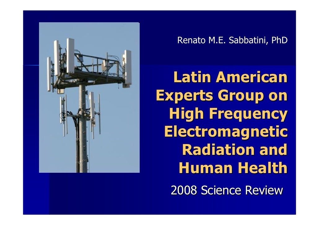Effects of Non-Ionizing Electromagnetic Radiofrequency Fields on Human Healt
