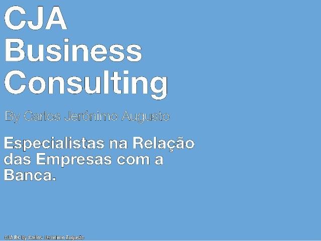 VANTAGENS NA RELAÇÃO DOS GABINETES DE CONTABILIDADE COM A CJA BUSINESS CONSULTING Potencial Posição Concorrencial Na sequê...