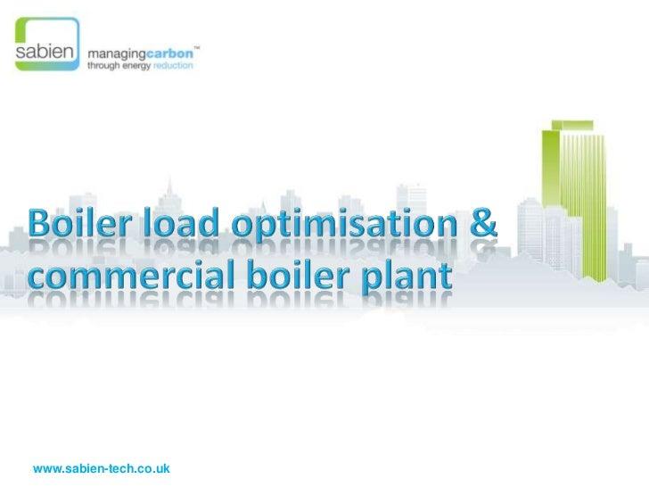 Sabien Introduction To M2G  & Boiler Optimisation