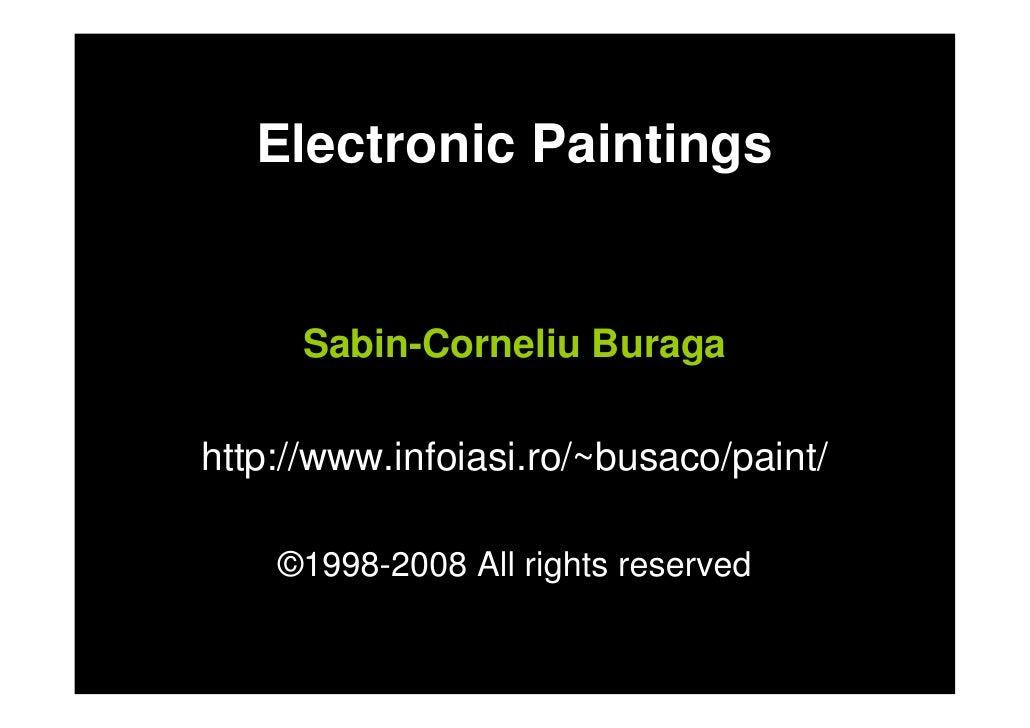 Sabin Buraga Electronic Paintings2