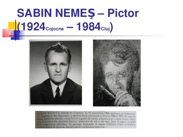 SABIN NEMEŞ – Pictor(1924Cojocna – 1984Cluj)