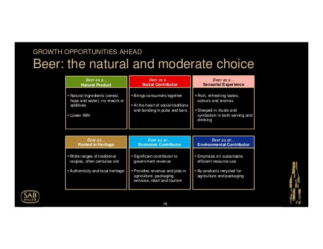 sab millers strategy essay Sabmiller is the second largest brewer all over the  sabmiller case study  on the mere fact that sab's political strategy demands a great .